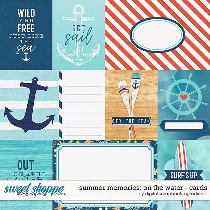 Summer Memories: On The Water | Cards by Digital Scrapbook Ingredients