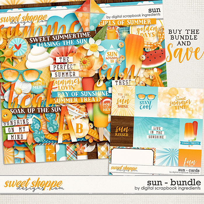Sun Bundle by Digital Scrapbook Ingredients