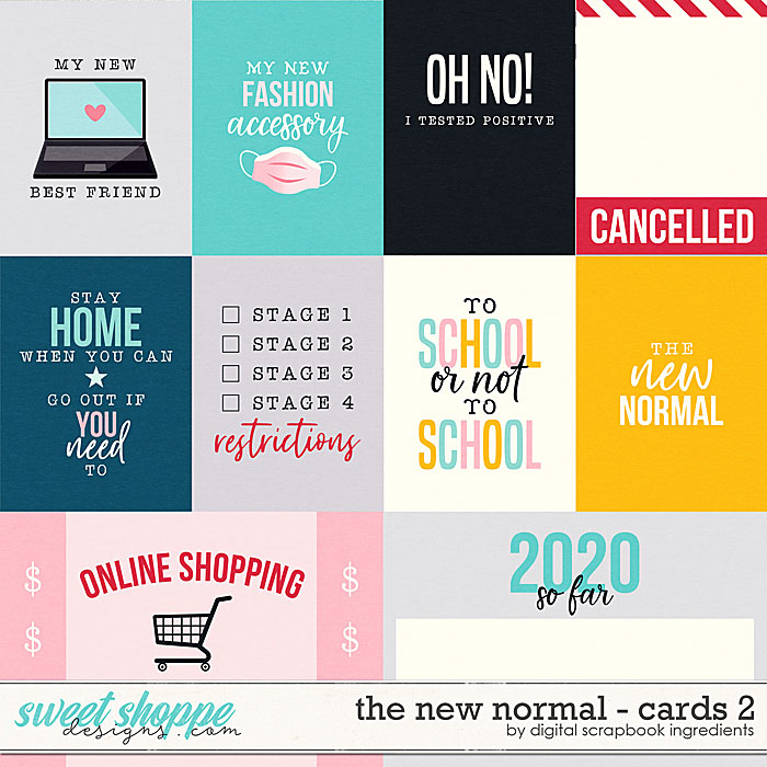 The New Normal | Cards 2 by Digital Scrapbook Ingredients