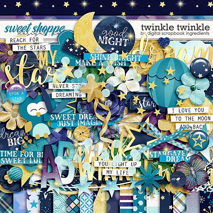 Twinkle Twinkle by Digital Scrapbook Ingredients