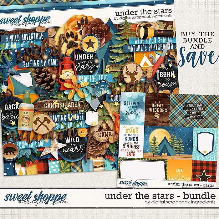 Under The Stars Bundle by Digital Scrapbook Ingredients