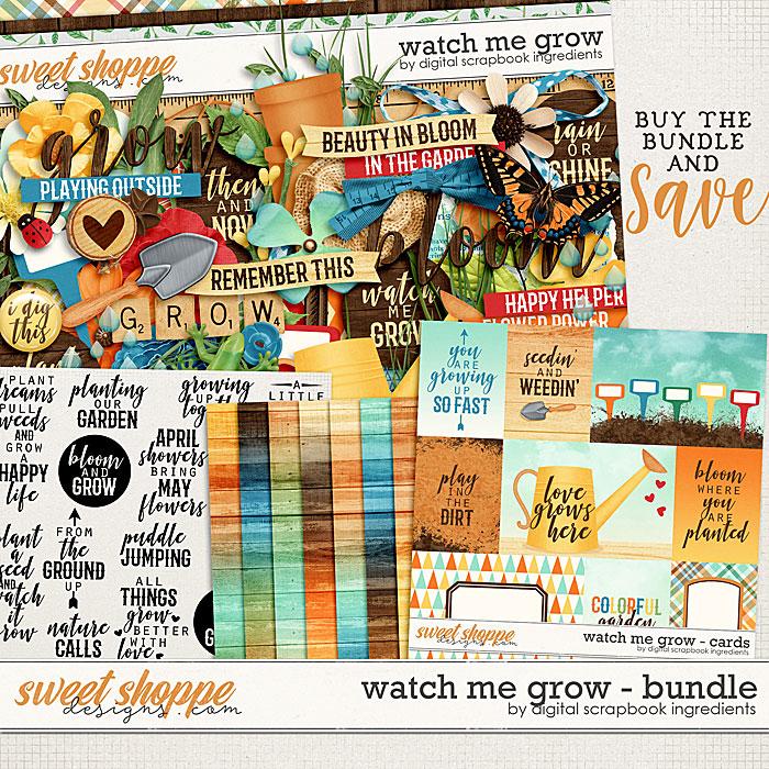 Watch Me Grow Bundle by Digital Scrapbook Ingredients