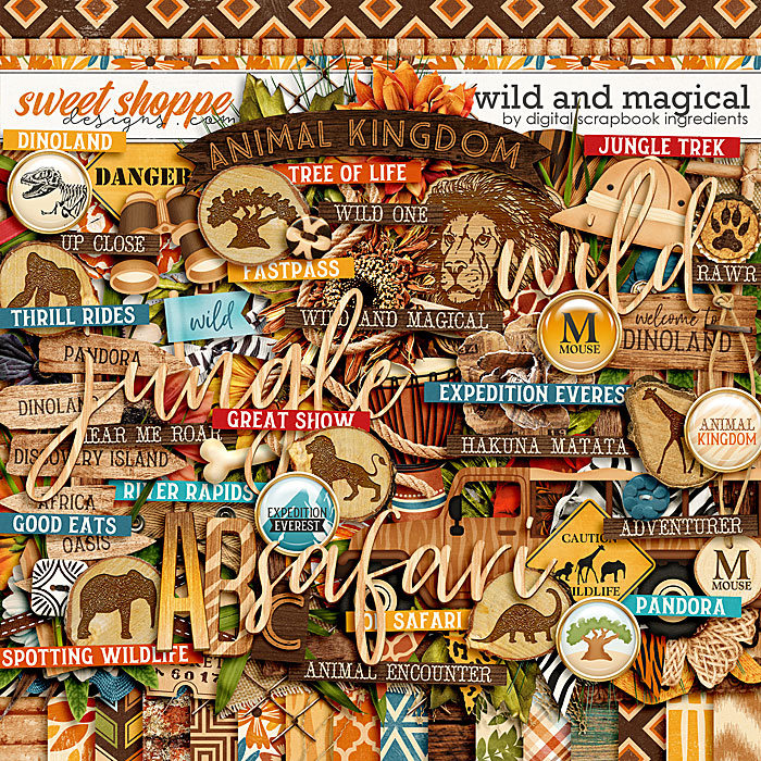 Wild And Magical by Digital Scrapbook Ingredients