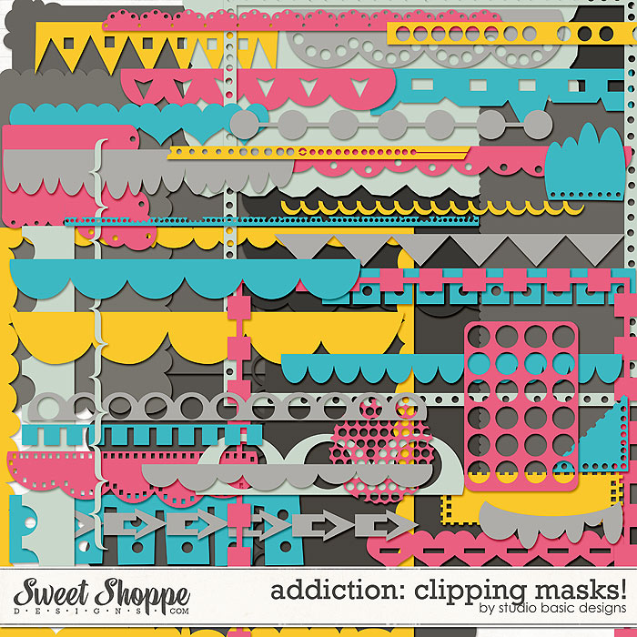 Addiction: Clipping Masks! by Studio Basic