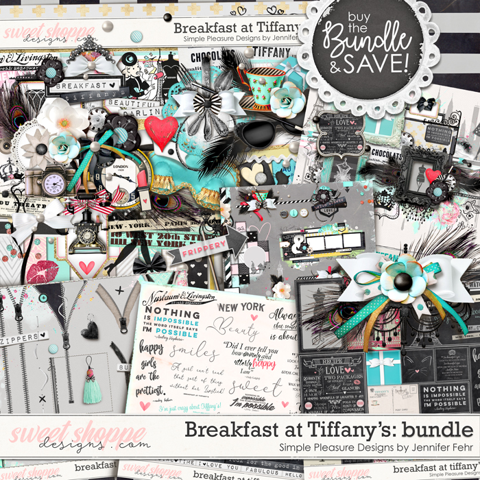 Breakfast at Tiffany's Bundle:  Simple Pleasure Designs by Jennifer Fehr