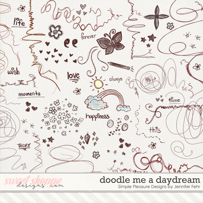 doodle me a daydream:  Simple Pleasure Designs by Jennifer Fehr