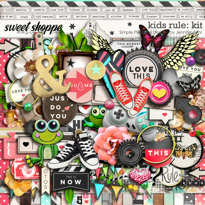 a kids rule kit:  Simple Pleasure Designs by Jennifer Fehr
