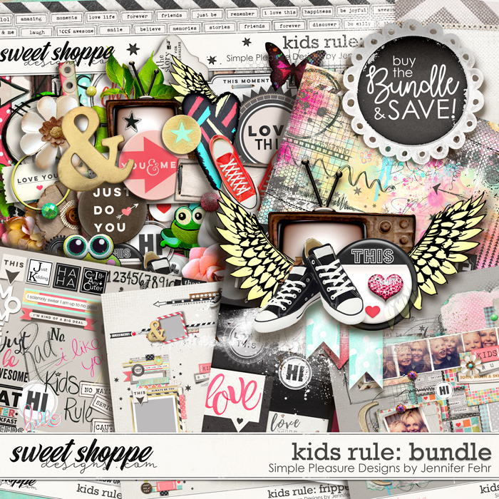 a kids rule bundle:  Simple Pleasure Designs by Jennifer Fehr