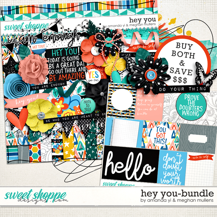Hey You: Bundle by Amanda Yi & Meghan Mullens