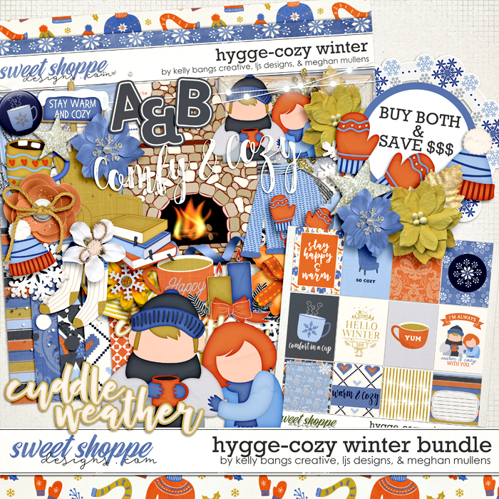 Hygge: Cozy Winter Bundle by Kelly Bangs Creative, LJS Designs and Meghan Mullens