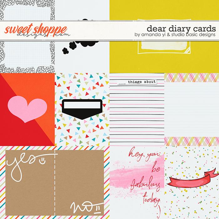 Dear Diary Cards by Amanda Yi and Studio Basic