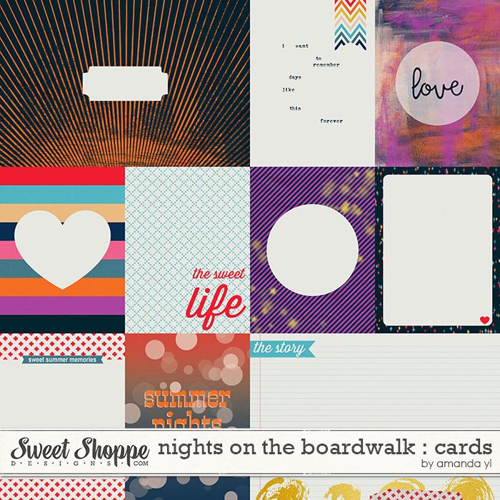 Nights On The Boardwalk : Cards by Amanda Yi