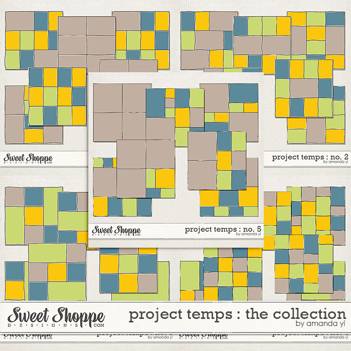 Project Temps : The Collection by Amanda Yi