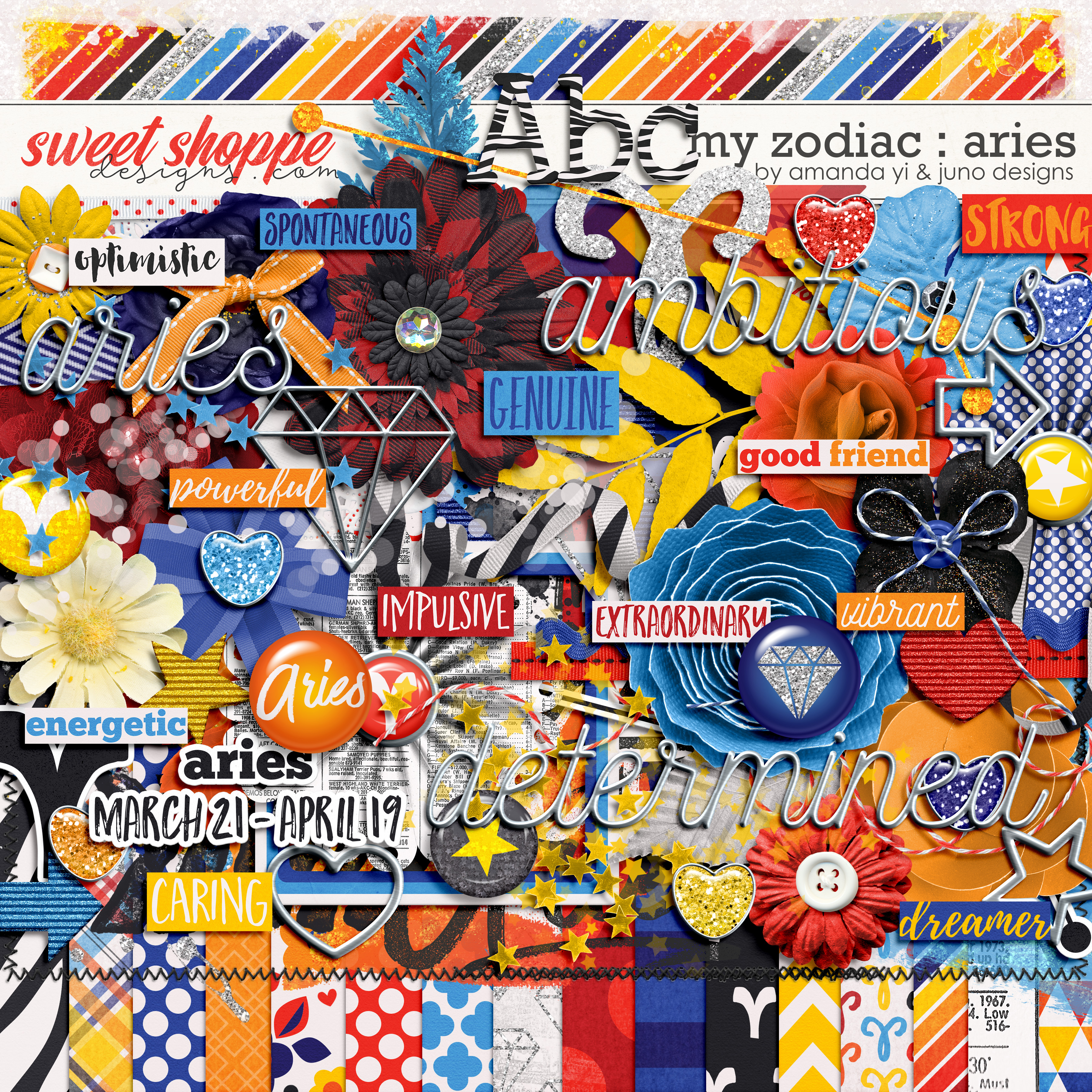 My Zodiac - Aries by Amanda Yi & Juno Designs