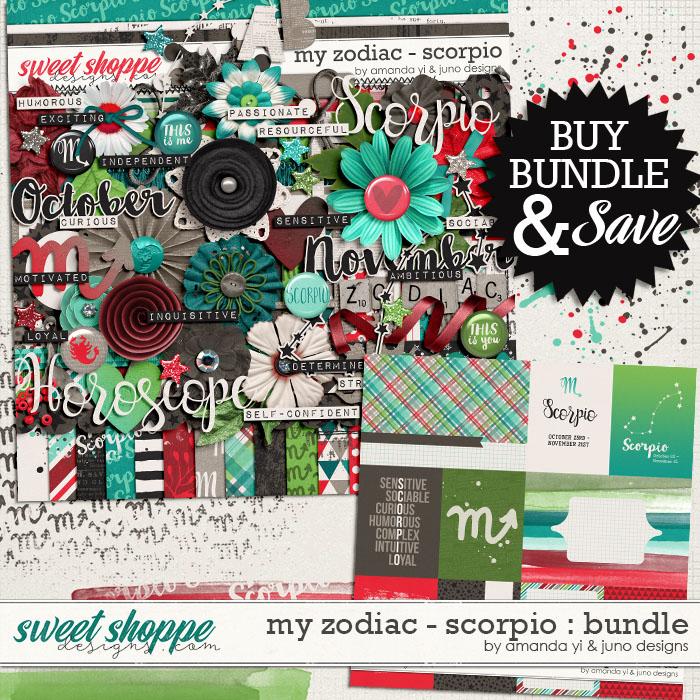 My Zodiac - Scorpio : Bundle by Amanda Yi & Juno Designs