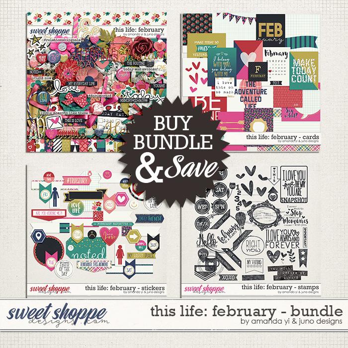 This Life: February - Bundle by Amanda Yi & Juno Designs