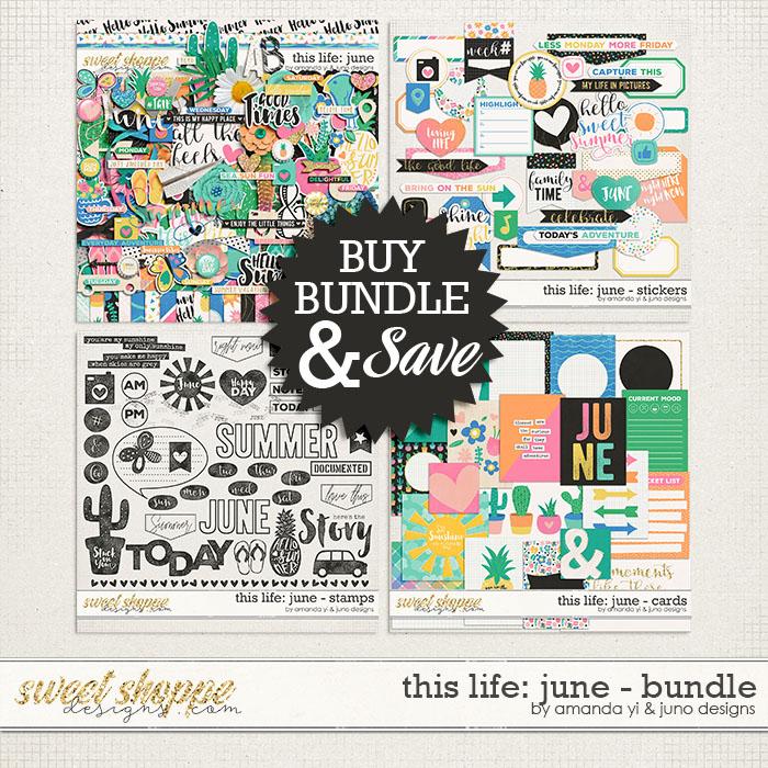This Life: June - Bundle by Amanda Yi & Juno Designs