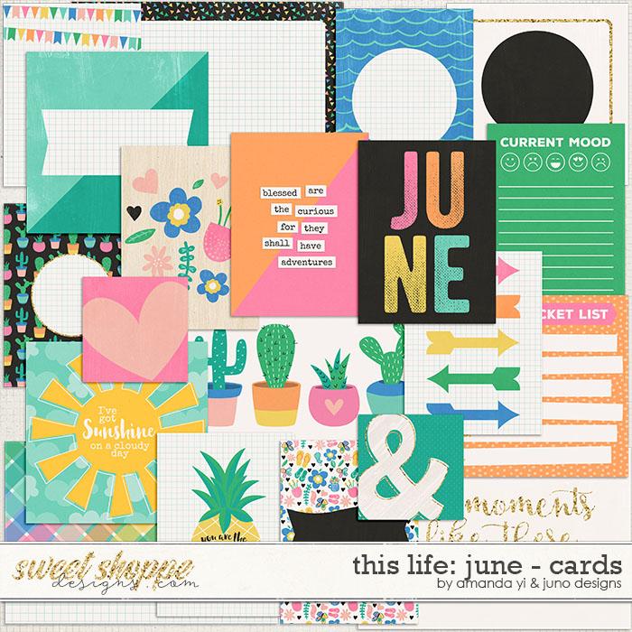 This Life: June - Cards by Amanda Yi & Juno Designs