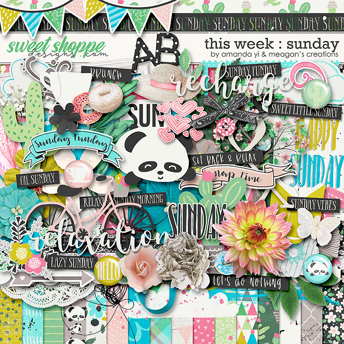 This Week: Sunday by Amanda Yi & Meagan's Creations