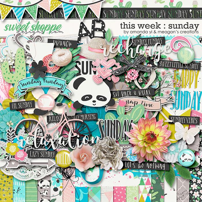 This Week: Sunday by Amanda Yi & Meagan's Creations
