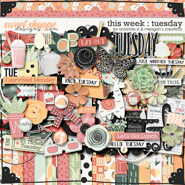 This Week: Tuesday by Amanda Yi & Meagan's Creations