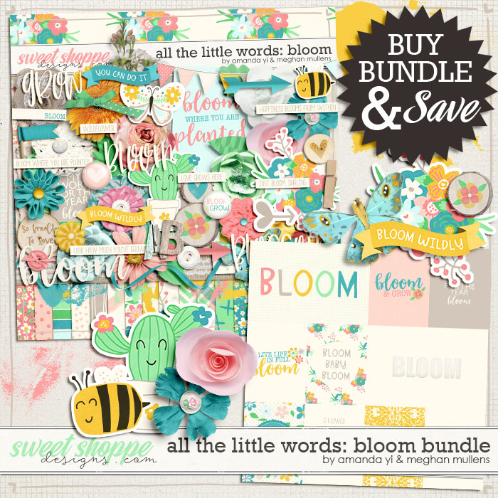 All The Little Words-Bloom Bundle by Amanda Yi and Meghan Mullens