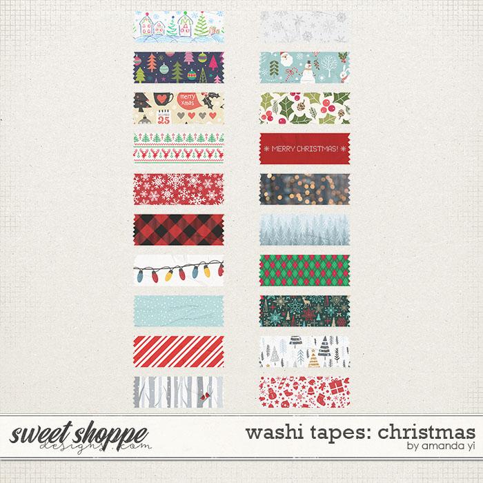 Washi Tapes: Christmas by Amanda Yi