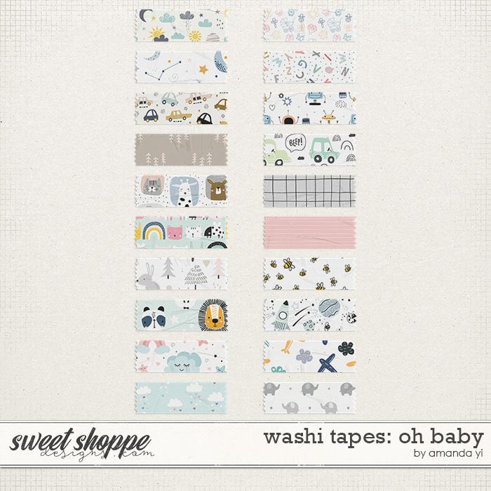Washi Tapes: Oh Baby by Amanda Yi