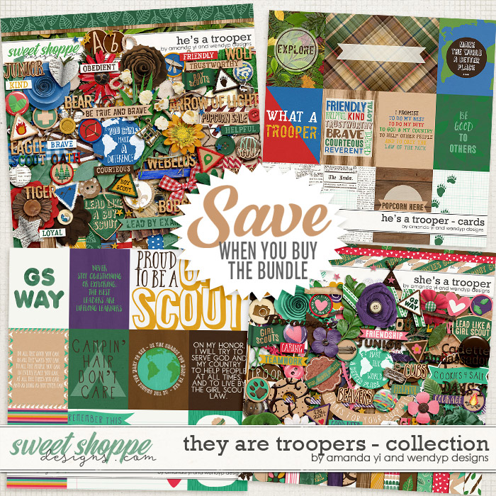They Are Troopers: Collection by Amanda Yi & WendyP Designs