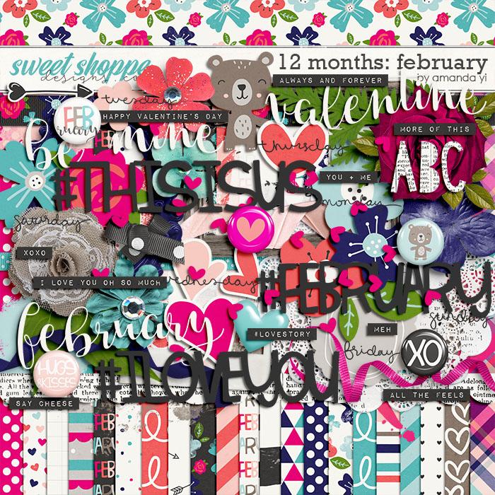 12 Months: February by Amanda Yi