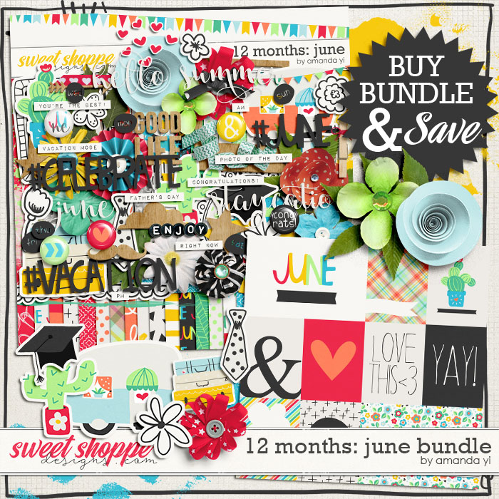 12 Months: June Bundle by Amanda Yi