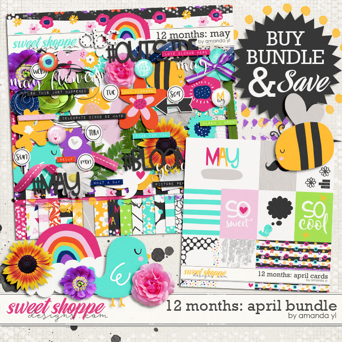 12 Months: May Bundle by Amanda Yi