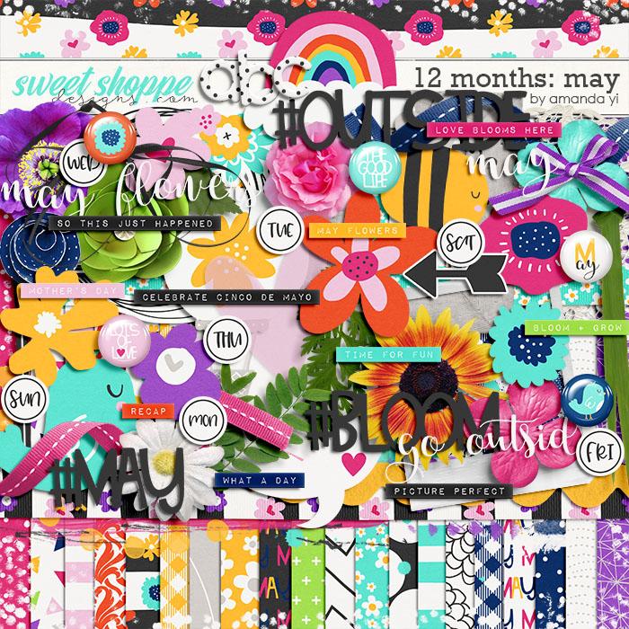 12 Months: May by Amanda Yi
