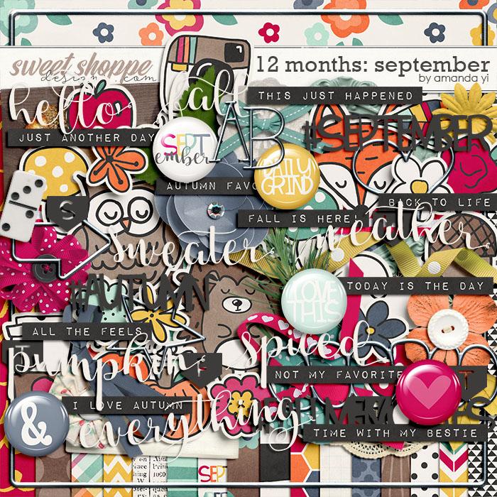 12 Months: September by Amanda Yi