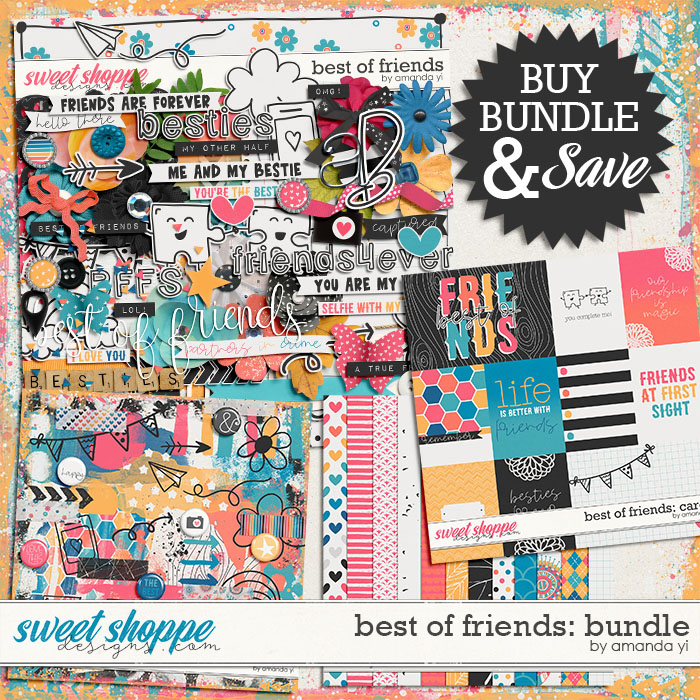 Best of Friends: Bundle by Amanda Yi