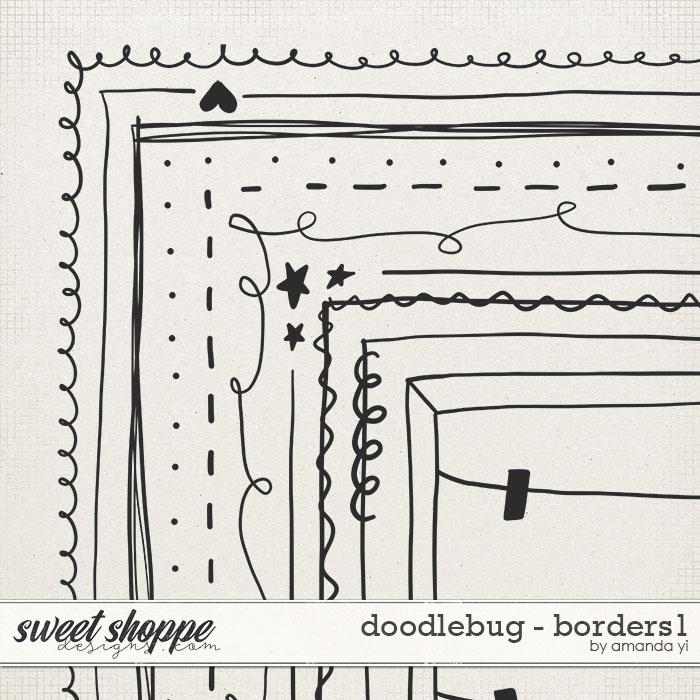 Doodlebug: Borders 1 by Amanda Yi