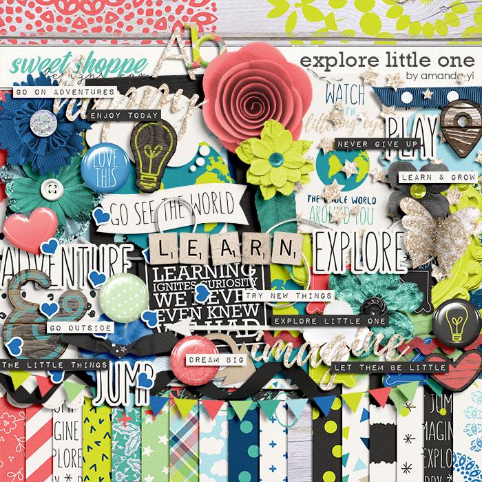 Explore Little One by Amanda Yi
