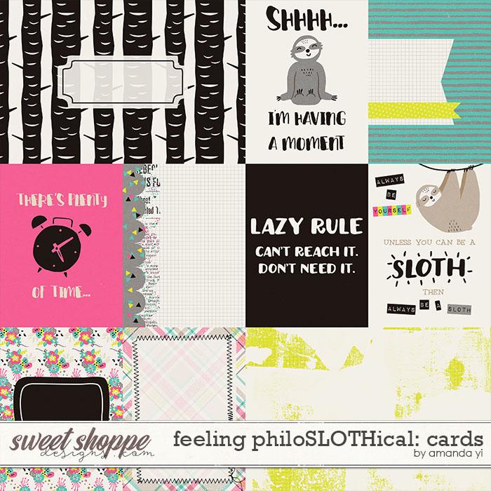 Feeling PhiloSLOTHical: Cards by Amanda Yi