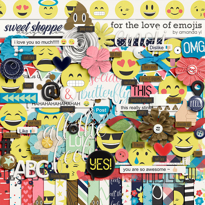 For The Love Of Emojis by Amanda Yi