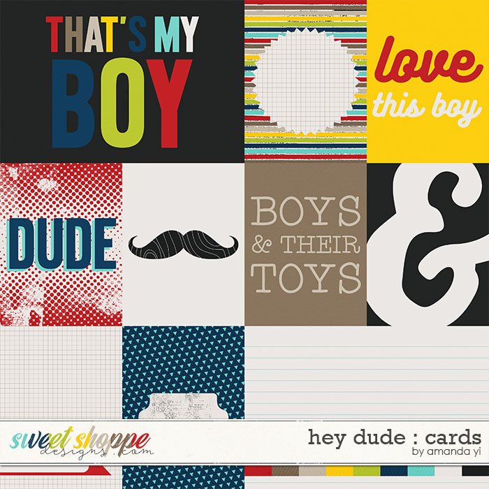 Hey Dude : Cards by Amanda Yi