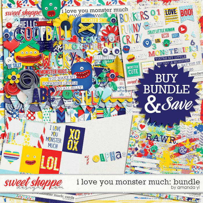 I Love You Monster Much : Bundle by Amanda Yi