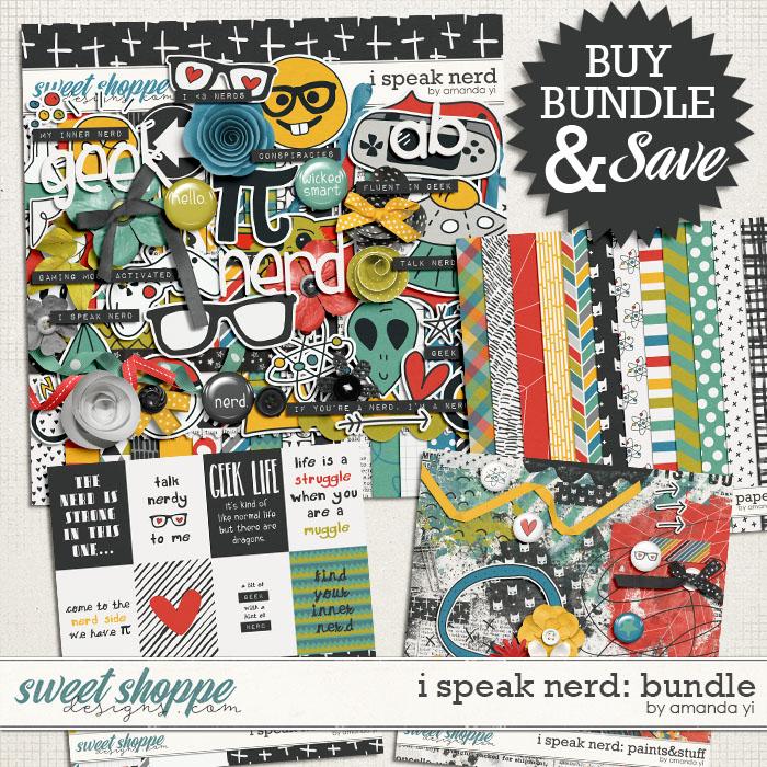 I Speak Nerd: Bundle by Amanda Yi