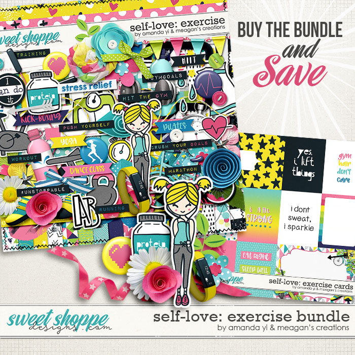 Self-Love: Exercise Bundle by Amanda Yi & Meagan's Creations
