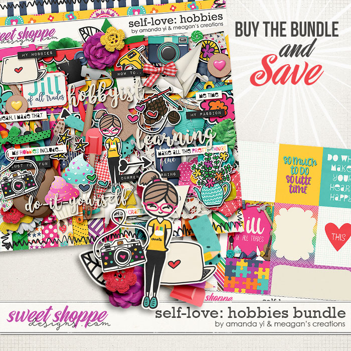 Self-Love: Hobbies Bundle by Amanda Yi & Meagan's Creations