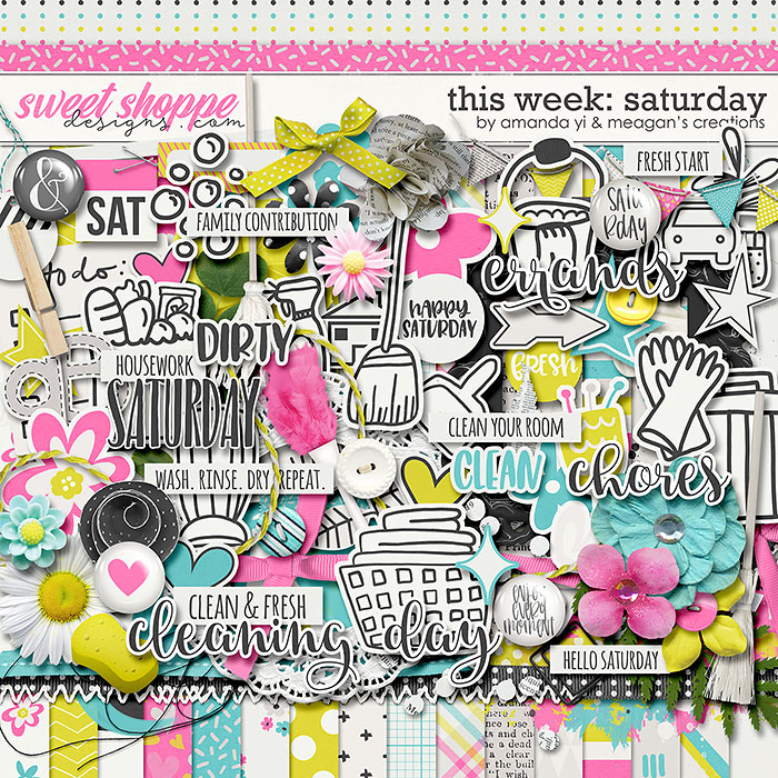 This Week: Saturday by Amanda Yi & Meagan's Creations