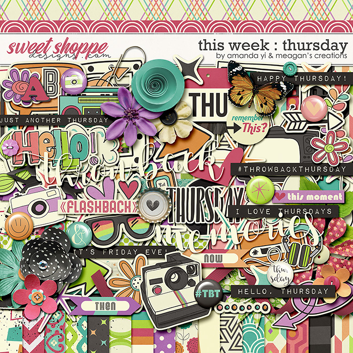 This Week: Thursday by Amanda Yi & Meagan's Creations