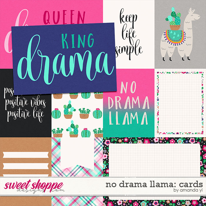 No Drama Llama: Cards by Amanda Yi