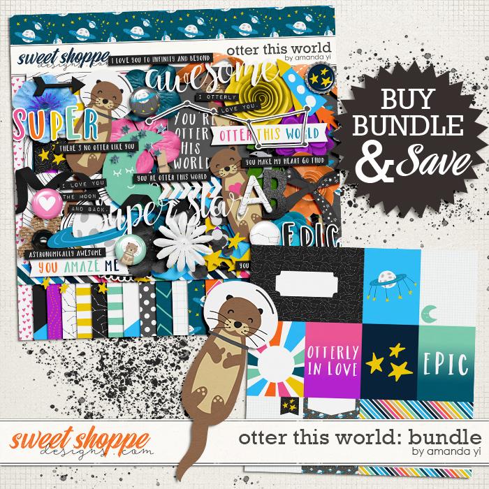 Otter This World: Bundle by Amanda Yi