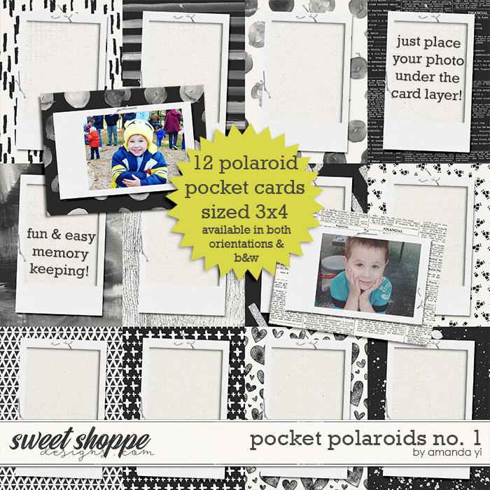 Pocket Polaroids No.1 by Amanda Yi