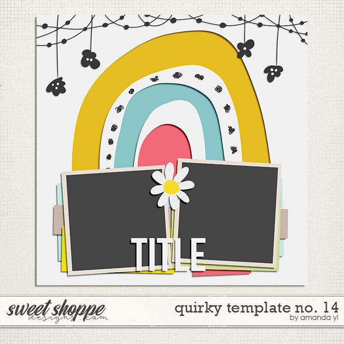 Quirky template no. 14 by Amanda Yi